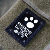 BRIGHT PATCH SNEAKING CAT`s 50×63