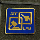 ATF LAB (Alcohol, Tobacco & Firearms 研究所)パッチ